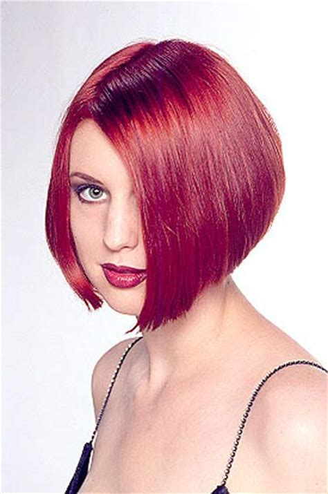 lip length angled bob haircuts 91b short inverted bob lip length in front clippered in