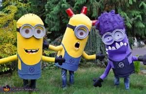 Minion Costume Children Halloween Fancy Disfraces Los Minions