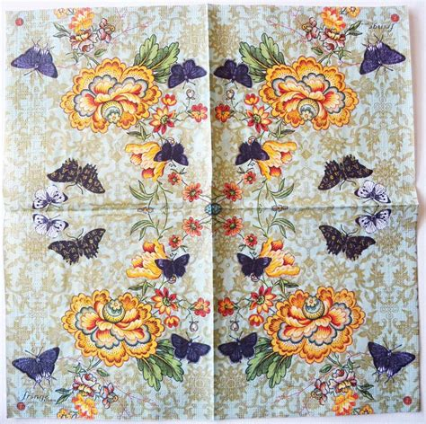 butterfly decoupage paper decoupage paper napkins of cathay butterflies