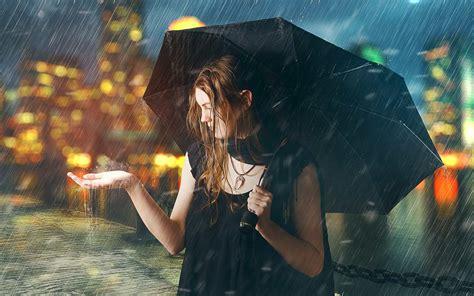 Sous La Pluie photomanipulation sous la pluie avec photoshop