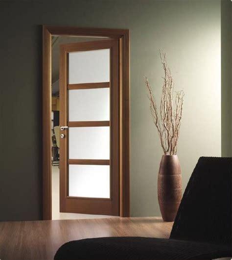 cristales puertas interiores puertas de madera con cristal puertas pinterest