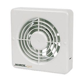 extractor fan bathroom not working manrose mg150bs 20w long life axial kitchen extractor fan