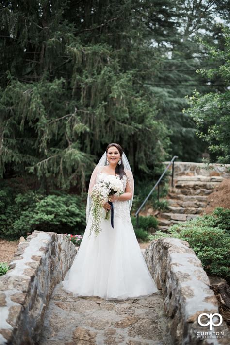 Rock Quarry Garden Greenville Sc Weddings Greenville Rock Quarry Bridal Katlyn Cureton Photography