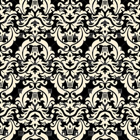 black and white retro wallpaper seamless black and white floral retro wallpaper damask