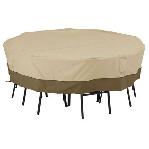 Classic Accessories Veranda Large Square Patio Table And Veranda Patio Furniture Covers