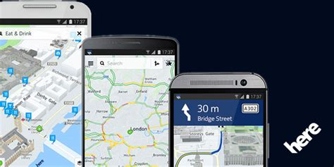 here maps for life οι here χάρτες της nokia διαθέσιμοι σε όλες τις android