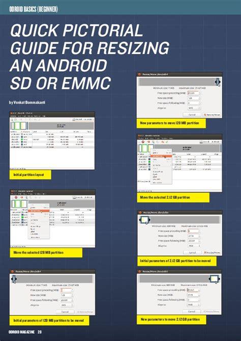 emmc layout guide odroid magazine june 2014