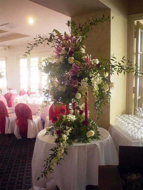 big wedding flower arrangements big display flower arrangements