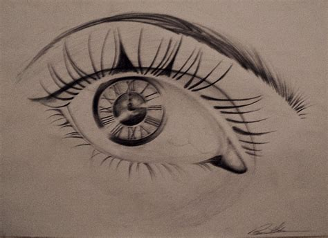 clock eyes by myllabaumgartel on deviantart