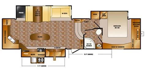 sunset trail rv floor plans 2013 crossroads sunset trail reserve sf34rk trailer photos