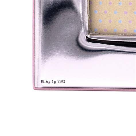 cornici argento battesimo cornice in argento battesimo bimba cm 9x13 orsetto