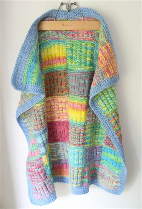 Patchwork Knitted Blanket - 17 best images about patchwork knitting on
