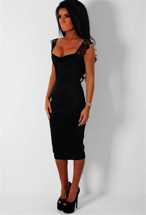 Midi Dress black midi dress dressed up