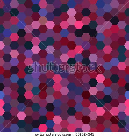 the random universe making seamless hex tiles abstract hexagonal pattern on black background stock