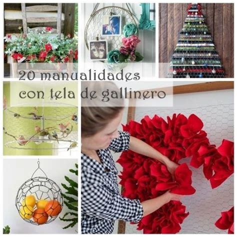 manualidades para decoracion hogar 20 manualidades f 225 ciles con malla de gallinero para