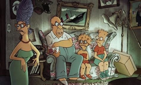 simpsons french couch gag simpsons sick chirpse