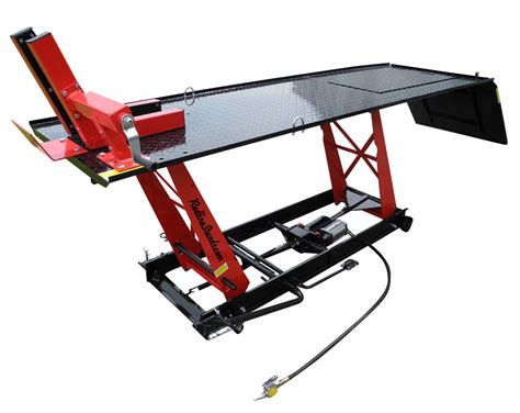 motorcycle lift bench new redline engineering ld1k 1000 lb motorcycle lift