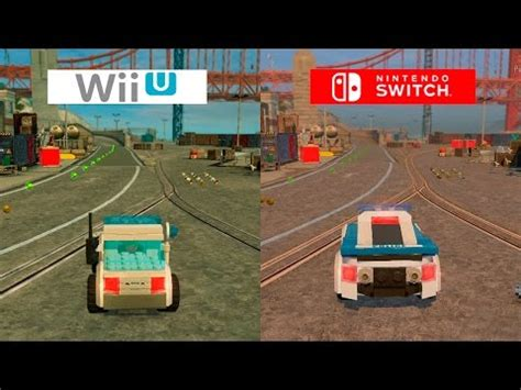 Switch Lego City Undercover lego city undercover switch vs wii u graphics comparison comparativa racer lt