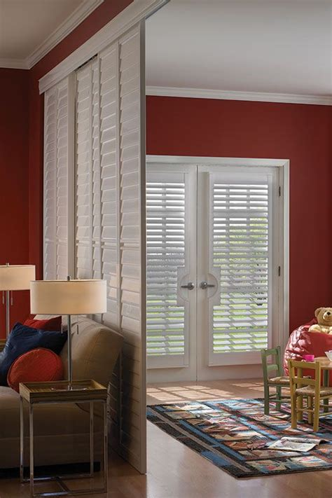 shutter room divider different ways to use plantation shutters