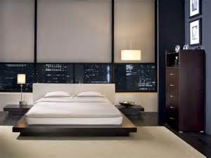 Modern Style Bed Modern Style Wooden Leather Platform Bed Design