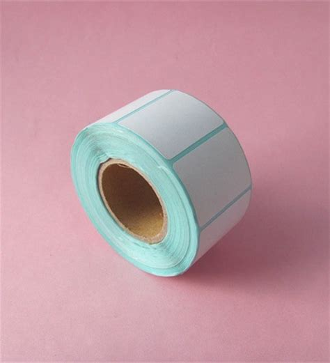printing sticker paper roll thermal label sticker rolls panda paper roll