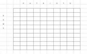 Bowl Block Pool Template by 2015 Bowl Box Grid New Calendar Template Site