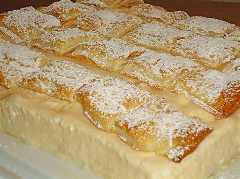 kroatische kuchen krempita rezepte chefkoch de