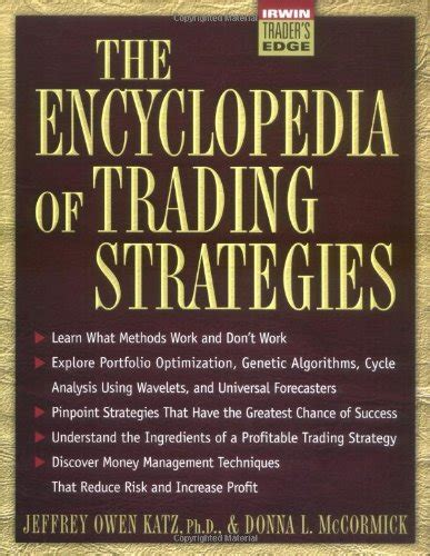 Encyclopedia Of Trading Strategies encyclopedia of trading strategies