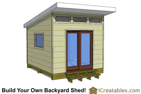 modern studio plans 10x12 shed plans building your own storage shed