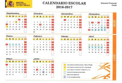 calendario escolar 2016 2017 baleares calendar 2016 feb calendar template 2016