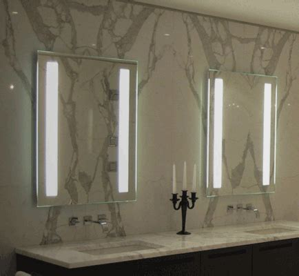 electric mirror bathroom electric mirror fusion lighted mirror bliss bath kitchen