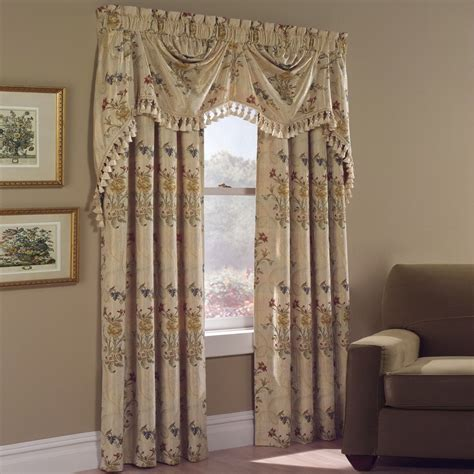 kmart curtains window treatments united curtain company jewel 84 quot panel