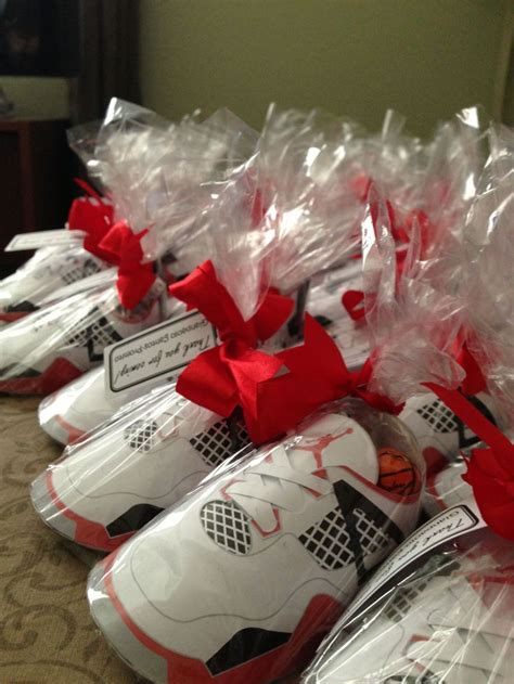 Jordan Shoes Party Favors Party  Ee  Ideas Ee   Pinterest