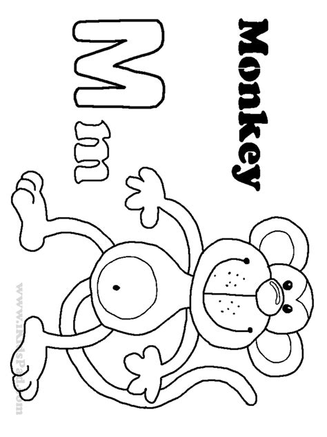 Alphabet M Coloring Pages by Contemporary Ideas Free Alphabet Coloring Pages Printables