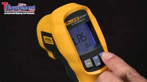 Promo Termometer Infrared Fluke 62 Max how to use the fluke 62 max handheld infrared thermometer