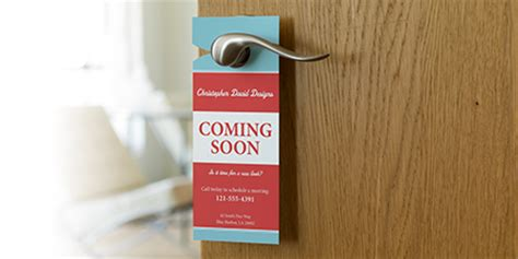 bathroom design templates custom door hangers vistaprint