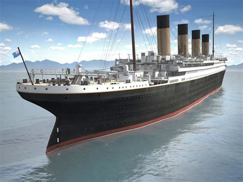 titanic front boat scene titanic 3d model www pixshark images galleries