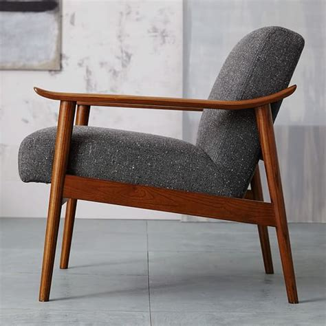 mid century chair mid century show wood chair west elm
