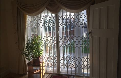 Security Grilles For Patio Doors Rsg1000 Retractable Grilles Slim Security Grilles