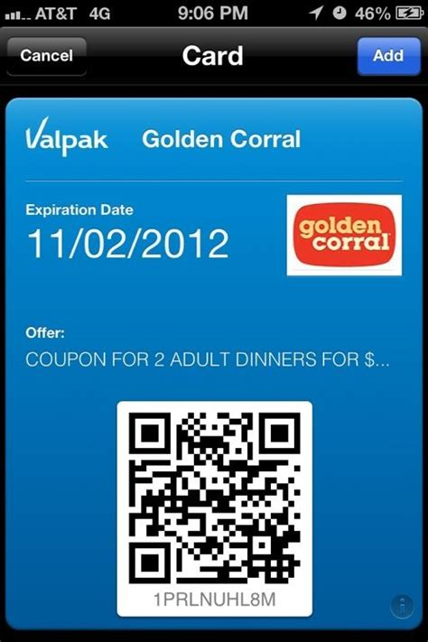 golden corral printable gift cards golden corral coupons for passbook http www pinterest