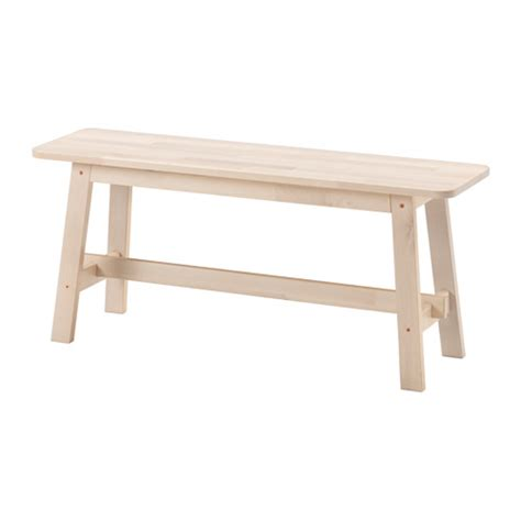wooden bench ikea norr 197 ker bench ikea
