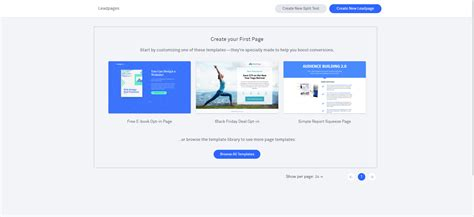 Leadpages Review 2018 How To Build Leadpages Landing Page Top10marketingtools Leadpages Webinar Template