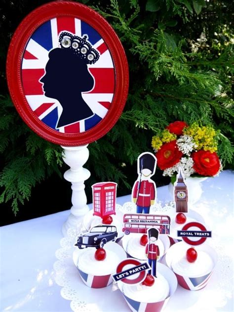 themed party decorations uk british uk london birthday party printables supplies