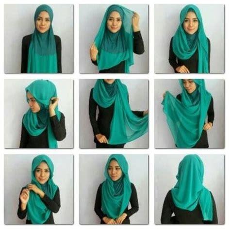 hijab tutorial in trendy style step by step radiusite shawl tutorial shawls pinterest shawl