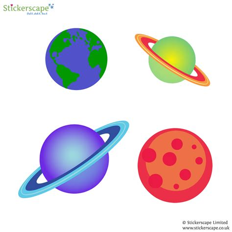 planet wall stickers planet wall stickers stickerscape uk