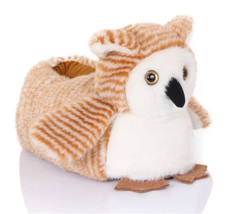animal slippers loungeable boutique cosy 3d novelty pull on animal