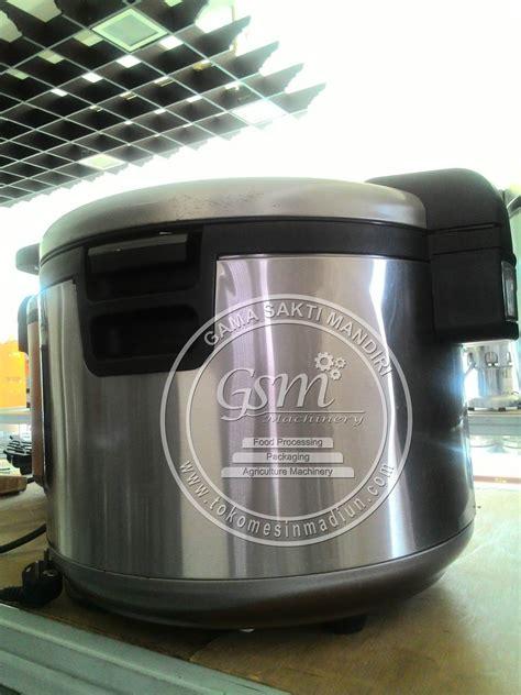Rice Cooker Getra mesin penanak nasi kapasitas besar toko alat mesin usaha