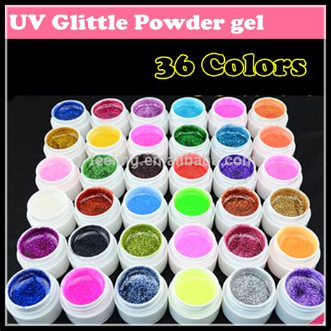 what wattage uv l for gel nails professional 36 color glitter powder nail uv gel nail