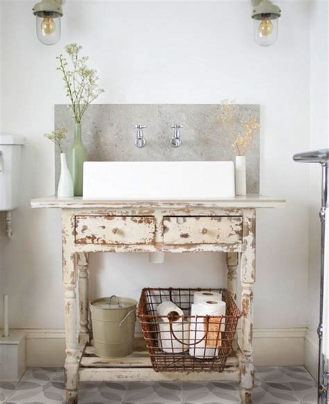 Bathroom Vanity Desk by 13 Creative Diy Bathroom Vanities