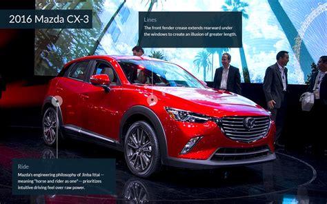 maxda auto maxda cx3 cool cars from the la auto show cnnmoney